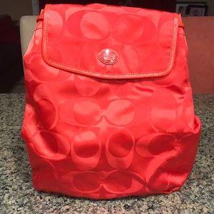 NWT COACH Backpack